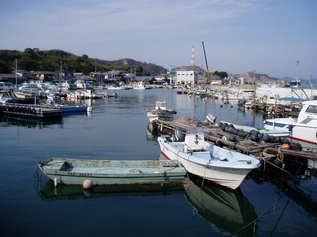 Naoshima Port 2005